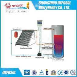 250L de las bobinas de cobre doble presión calentador de agua solar dividido