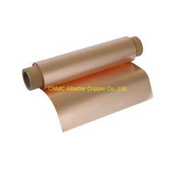 C1100 de Folie van het Koper van de Antioxidatie voor Elektromagnetische Goedgekeurde Beveiliging met RoHS
