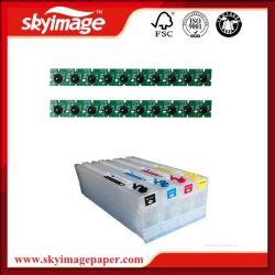 Одноразовый картридж совместим с черными чернилами микросхемы для Epson принтер4900/4910