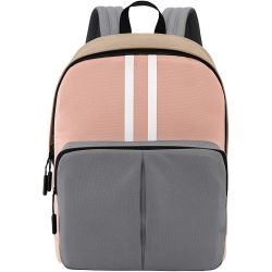 Hoogwaardige 15.6-inch Classic Basic Travelling-laptoprugzak voor dames Voor school