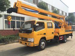 핫 세일 사용 시 6개 휠 15m 또는 15m 공중 트럭 인양