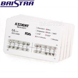 Baistra Azdent Bondable Metal tipo Mini-Roth Slot. 022 Dental Suportes Ortodôntico