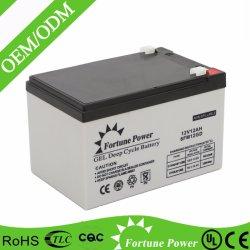бесплатное поддержание уплотнение свинцово-кислотного аккумулятора 12V 12AH 20Hr аккумуляторная батарея для аварийного освещения