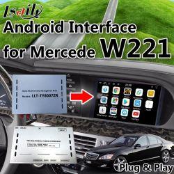 Mercedes Benz 2008-2009 C E S Class W221 Android 6.0 한국 인터페이스 차량용 GPS 내비게이션 박스(Mirrorlink 포함), WiFi