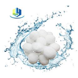 Corpi filtranti del raggruppamento della fibra di poliestere delle sfere del filtro dalla lavatrice in raggruppamento