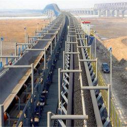 Du charbon et de charbon de bois courbé à longue distance du système de convoyeur à courroie