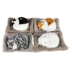 Nuova le bambole creative della decorazione dell'automobile dei gatti del carbonio attivate della casa del giocattolo dei gatti decorazione perfezionano i gatti chiari di simulazione