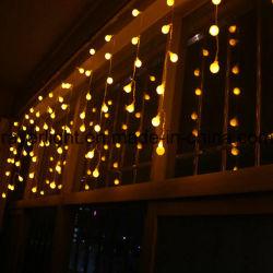 (216 LED LED) de la luz de las vacaciones navideñas Icicle Decoración de boda