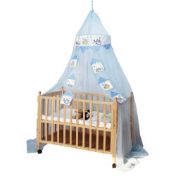 新しいベビーベッドのネットは対外開放の子供の子供の汎用反カ宮殿の床のタイプ蚊帳をカバーする
