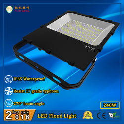 Transparante 240W SMD 3030 de Openlucht LEIDENE Lamp van de Vloed
