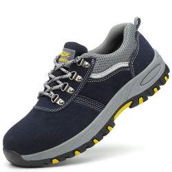 Sapatos de Segurança Industrial de trabalho com a tampa de fecho de aço