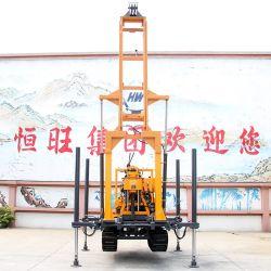 ماكينة حفر الآبار المائية الرافع الهيدروليكي ببرج الزحف 160م