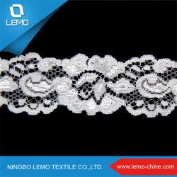 La rayonne de gros 90% Nylon 10% Spandex tricot dentelle