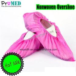 SMS impreso/PP/PE/CPE/Plástico Nonwoven Non-Skid/Anti-Skip/antideslizantes Antideslizante/Cubrezapatos, protectores impermeables desechables cubrezapatos