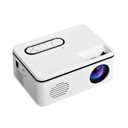 2020 Nuevo mini proyectores con potencia móvil puede ver en cualquier lugar