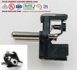 E/F automatique de type AC Power insert mâle Schuko 16une fiche mâle Schuko Insérez (3 broches électriques, bouchon de 4,8 mm 10A)