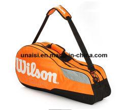 Singolo sacchetto di tennis della spalla di sport del pacchetto su ordinazione di volano con la maniglia