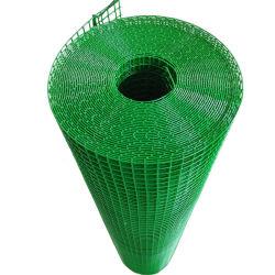 El verde recubierto de PVC Panel de cerco de malla de alambre soldado Gi malla de alambre neto de la malla de hierro en carretera.