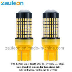 De Buiten Lichte T20 7443 Gele LEIDENE van de auto Lamp van de Richtingaanwijzer