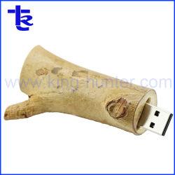 Ветви дерева деревянные флэш-накопитель USB Eco переработанной деревянной USB