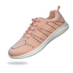 女性のための2020の新しい方法女性の偶然のスポーツの靴の高品質の平底の歩きやすい運動靴