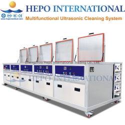 Faible coût de l'USC Multi-Bath nettoyeur ultrasonique Système de lavage avec OEM