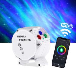 سماء الليل الكهربائية السماء ضوء النجوم الليزر ضوء السقف السماء جهاز عرض صغير خفيف الحجم يعمل بتقنية LED Aurora بتقنية Wi-Fi من Tuya Laser Star الأطفال البالغين