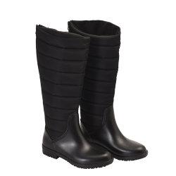 As mulheres Fashion Chuva Botas Wellies Weillington Rainboots exclusivo do joelho altas Botas de PVC de alta Senhoras brilhantes