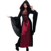 Hexe-Vampir null Halloween-Kostüme für erwachsener Partei-Karnevals-Abendkleid
