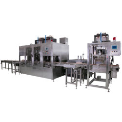 Type de pesage à fonctionnement automatique de tasse à mesurer le type de dépression Intelligent volumétrique acide/Ligne de remplissage de gel