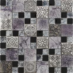 Стекло смешайте гранита, смолы, Ice трещины фарфора и мозаика для струйной печати