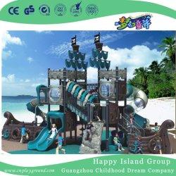 Barco Pirata competitivos equipos de juego para el Parque de Atracciones Parque infantil al aire libre (HK-50052)