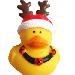 جديدة أسلوب عالة متحمّل جذّابة عيد ميلاد المسيح هبة محبوب [توي دوغ] مضغ لعبة لعبة صفراء بطّ