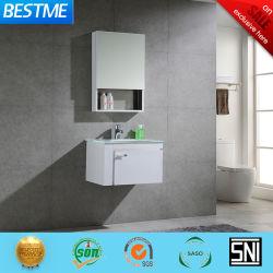 B6208-60 では、ガラスベースのステンレス製バスルームキャビネットが設置されている