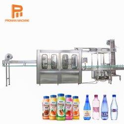 De automatische Drank die van het Sap van de Fles van het Glas van de Lopende band van het Sap van de Fles van het Huisdier Machine/de Zuivere Bottelende het Vullen van het Water Machine/Bottelarij van het Drinkwater maken