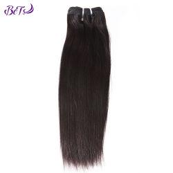 Tirée de la qualité de la trame de la machine Double vierge 100 % Cheveux humains droites