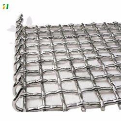 Fabrik Preis PVC beschichtet gecrimpte Drahtgeflecht vibrierende Siebgeflecht