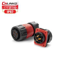 Cnlinko питание постоянного тока входной разъем питания удлинительный шнур IP67 4-контактный круглый разъем