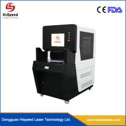 máquina de gravação a laser de fibra a laser de alta velocidade com mesa rotativa, usado para equipamentos de automação de marcação da ferramenta de corte