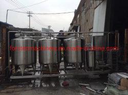 نظام CIP الخاص بنظام CIP الخاص بمصنع الجعة من الفولاذ المقاوم للصدأ في المكان لمربي البيرة