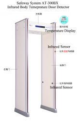 Caminar a través de tipo de puerta Médicos Electrónicos de infrarrojos en la frente y la temperatura corporal No-Contact Termómetro para la detección de fiebre