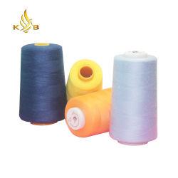 縫う糸のポリエステル 1 色箱の安い縫う糸 卸売業者