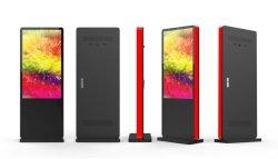 55 pulgadas LCD al aire libre de 120mm espesor Ultra delgado y corto plazo de entrega precio más barato de quiosco de la pantalla LCD