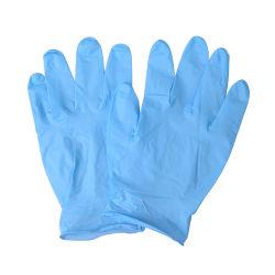 처분할 수 있는 싼 대량 의학 급료 착색된 분말 자유로운 검사 파란 처분할 수 있는 니트릴 장갑