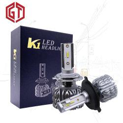 K1 자동 조명 시설 6500K 4000lm S1 X3 보충 Fanless 12 볼트 Csp LED 기관자전차 헤드라이트 전구 붙박이 Decorder 새로운 디자인 호리호리한 램프 S1