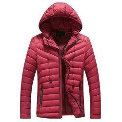 Mulheres de moda de inverno quente enchimento de poliéster casaco jaqueta