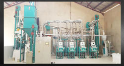 China sêmola de milho fresadora de boa qualidade como Hongdefa Posho Mill de máquinas (30tpd)