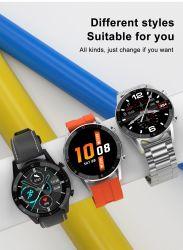 Bluetooth incorporada al por mayor Chip 4.0 Reloj inteligente, el teléfono móvil equipado con la frecuencia cardiaca y Monitor de presión arterial, la música de llamada altavoz de los deportes masculinos Smartwatch