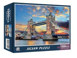 하이엔드 환경 하드 보드 어린이 지적 Paperjigsaw 퍼즐 아름다운 Shrinkwrap 박스