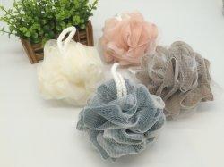 Esfera de banho, bonito e confortável bolas de banho de cor com malha de Espuma de Banho de chuveiro esponja de Esferas